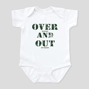 Over & Out Infant Bodysuit
