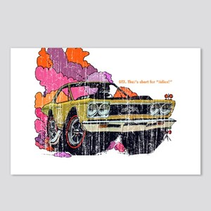 Plymouth GTX Illustration Postcards (Package of 8)