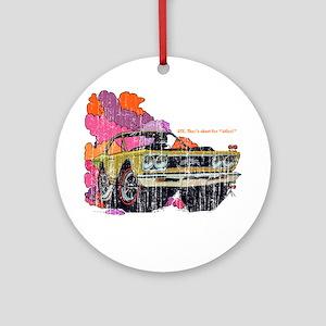 Plymouth GTX Illustration Ornament (Round)