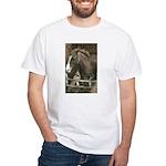 The Pony Cafe Paint HorseWhite T-Shirt