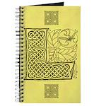 Celtic Letter L Journal