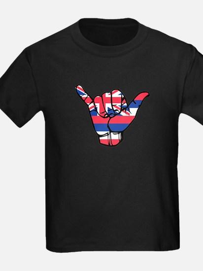 Shaka Hawaii Flag T-Shirt