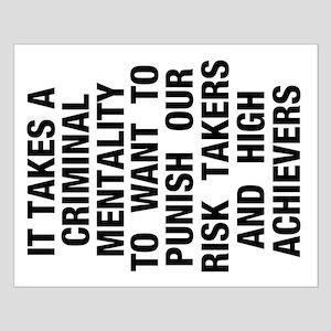16x20 Criminal Mentality Poster