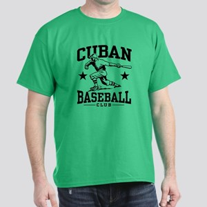 Cuban Baseball Dark T-Shirt