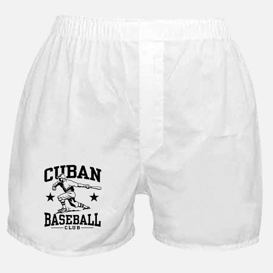 Cuban Baseball Boxer Shorts