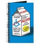 Missing Person / Inclusion Carton Journal