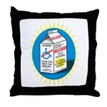 Missing Person / Inclusion Carton Throw Pillow