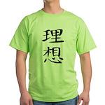 Ideal - Kanji Symbol Green T-Shirt