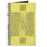 Celtic Letter N Journal
