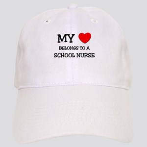 My Heart Belongs To A SCHOOL NURSE Cap