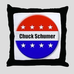 Chuck Schumer Throw Pillow