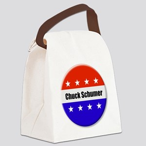 Chuck Schumer Canvas Lunch Bag