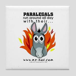 Paralegals Tile Coaster