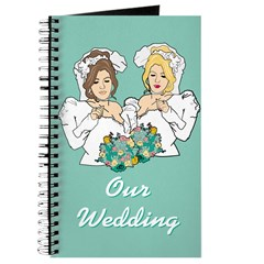 Lesbian Marriage I Do Journal