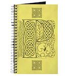Celtic Letter P Journal