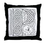 Celtic Letter P Throw Pillow