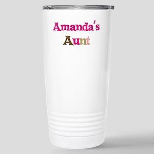 Amanda's Aunt Stainless Steel Travel Mug