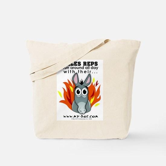Sales Reps Tote Bag