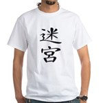Labyrinth - Kanji Symbol White T-Shirt