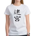 Labyrinth - Kanji Symbol Women's T-Shirt