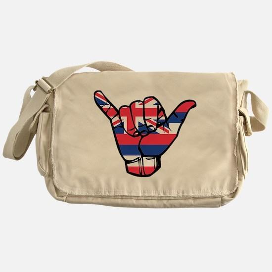 Shaka Hawaii Flag Messenger Bag