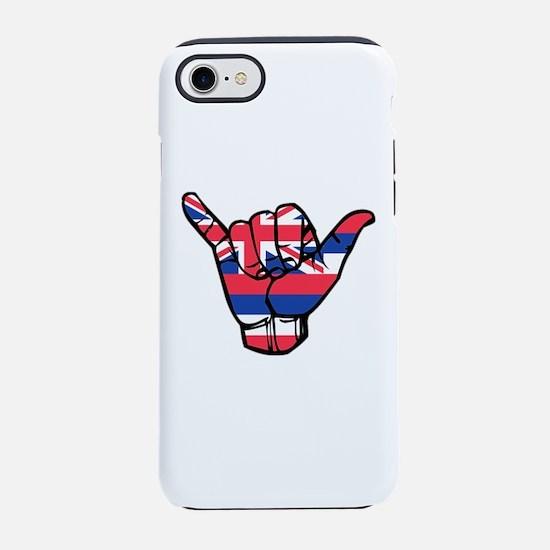 Shaka Hawaii Flag iPhone 7 Tough Case