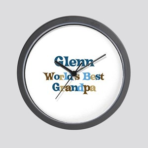 Glenn - Best Grandpa Wall Clock