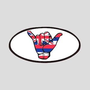 Shaka Hawaii Flag Patch