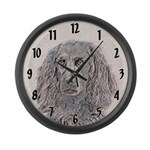 Boykin Spaniel Large Wall Clock