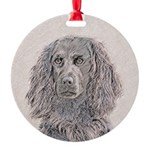 Boykin Spaniel Round Ornament