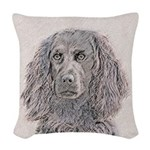 Boykin Spaniel Woven Throw Pillow