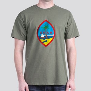 Guam Coat Of Arms Dark T-Shirt