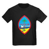 Guam Kids T-shirts (Dark)