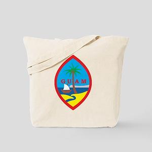 Guam Coat Of Arms Tote Bag