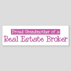 Grandmother of a Real Estate Bumper Sticker