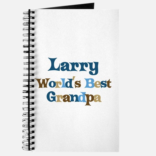 Larry - Best Grandpa Journal