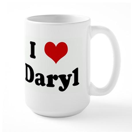 I Love Daryl Large Mug