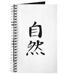 Nature - Kanji Symbol Journal