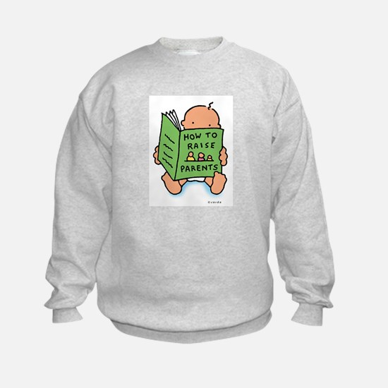 raising parents (light) Sweatshirt