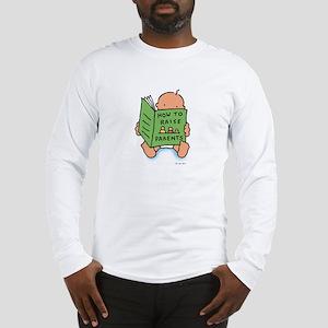 raising parents (light) long sleeve t-shirt