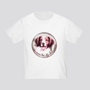 Brittany Spaniel Memory Toddler T-Shirt