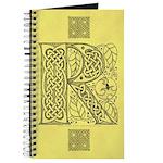 Celtic Letter R Journal