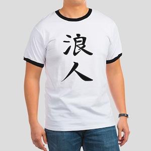 Ronin - Kanji Symbol Ringer T