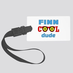 Finn Cool Dude Large Luggage Tag