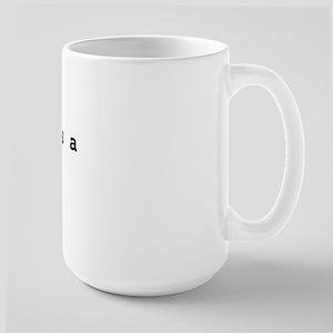 Topicality is a Timesuck Large Mug
