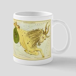 Vintage Celestial Zodiac, Capricorn Mug