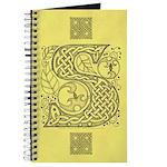Celtic Letter S Journal