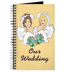 Lesbian Marriage I Do Journal