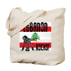 Lebanon Rocks Tote Bag
