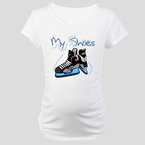 Skates My Shoes Maternity T-Shirt